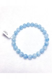 Bracelet aquamarine authentique